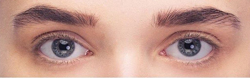 Classic lashes extension before