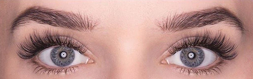 Classic lashes extension after